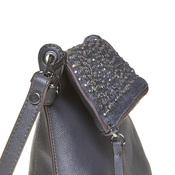 Dámská Crossbody kabelka s hvězdičkami bata, modrá, 2020-961-9302 - 17