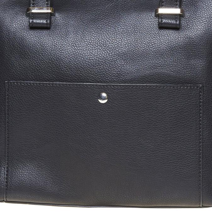 Elegantní dámská kabelka bata, černá, 961-6278 - 17