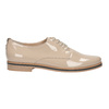Krémové lakované polobotky bata, béžová, 2021-528-8634 - 15