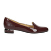 Lakované dámské Loafers bata, červená, 518-5600 - 15