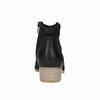 Kožené kotníčkové kozačky černé bata, černá, 596-6633 - 17