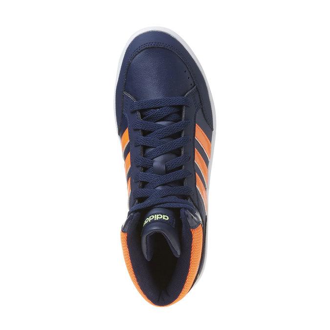 Dětské kotníčkové tenisky adidas, modrá, 401-9253 - 19