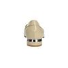 Lakované dámské Loafers bata, béžová, 518-8600 - 17