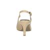 Dámské kožené Sling-back lodičky, béžová, 624-8638 - 17