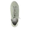 Kožené dámské kotníčkové tenisky bata, zelená, 523-7602 - 19