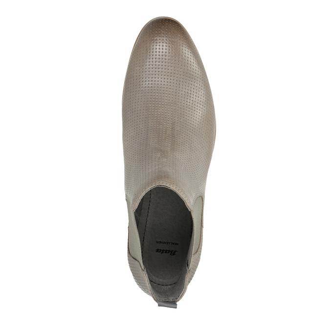 Dámská obuv v Chelsea stylu bata, hnědá, 596-2644 - 19