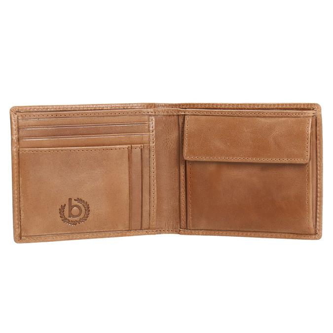Pánská kožená peněženka hnědá bugatti-bags, hnědá, 964-3079 - 15