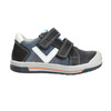 Dětské kožené boty na suché zipy bubblegummers, modrá, 116-9600 - 19