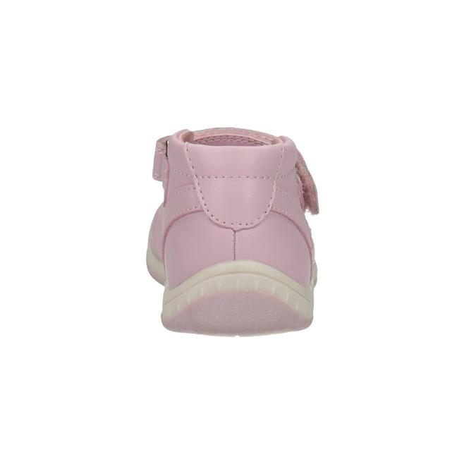 Kožené dětské baleríny bubblegummers, růžová, 124-5600 - 17