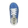Dětské kožené tenisky mini-b, modrá, 226-9600 - 19