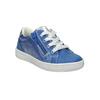Dětské kožené tenisky mini-b, modrá, 226-9600 - 13