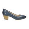 Lodičky na stabilním podpatku pillow-padding, modrá, 626-9637 - 15