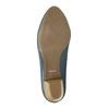 Lodičky na stabilním podpatku pillow-padding, modrá, 626-9637 - 26