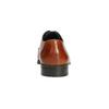 Hnědé kožené Derby polobotky bata, hnědá, 826-3804 - 17