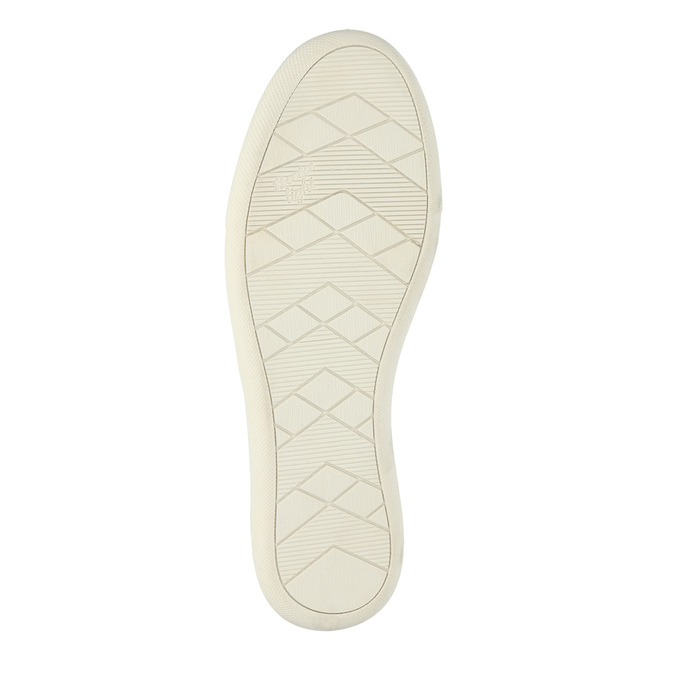 Kožené dámské tenisky bata, černá, 526-6618 - 26