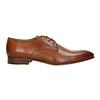 Pánské kožené polobotky bata, hnědá, 826-3836 - 15