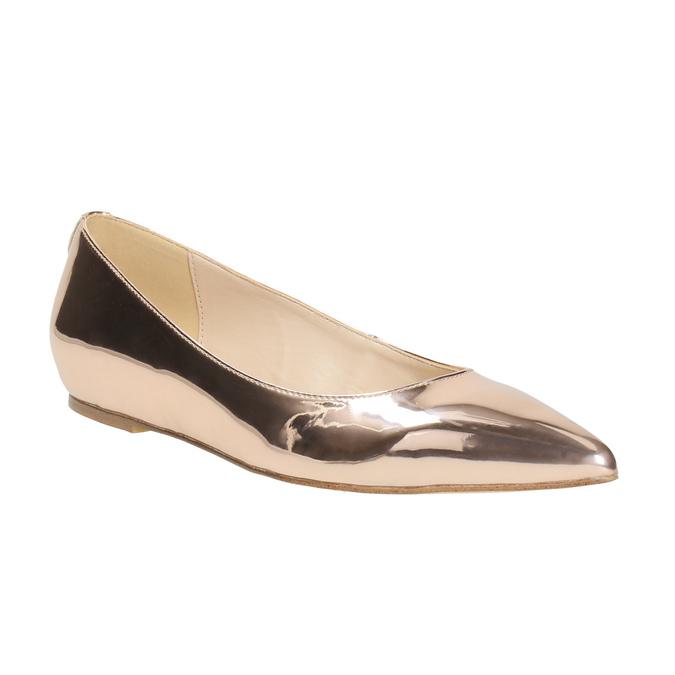 Zlaté baleríny do špičky bata, zlatá, 521-2603 - 13