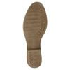 Kožené kotníčkové kozačky bata, hnědá, 596-4653 - 26