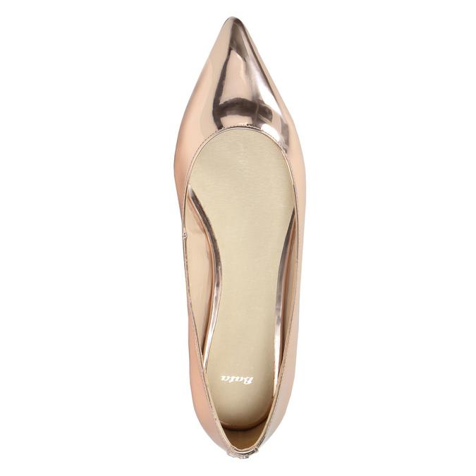 Zlaté baleríny do špičky bata, zlatá, 521-2603 - 19