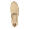 Lehká dámská nazouvací obuv bata, béžová, 516-8601 - 19