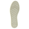 Dámské kožené tenisky modré bata, modrá, 526-9618 - 26