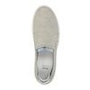 Dámská kožená Slip-on obuv bata, šedá, 516-2600 - 19