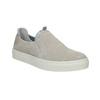 Dámská kožená Slip-on obuv bata, šedá, 516-2600 - 13