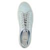 Kožené dámské tenisky bata, modrá, 523-9601 - 19