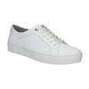 Bílé kožené tenisky vagabond, bílá, 624-1007 - 13