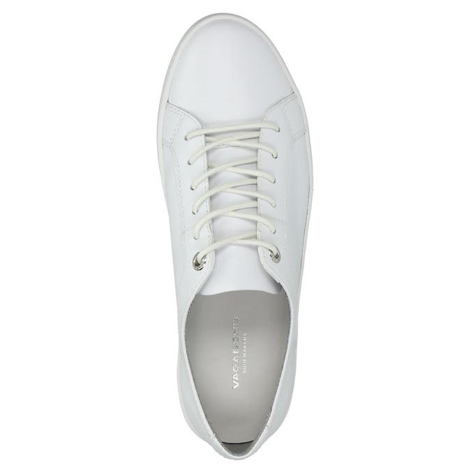 Bílé kožené tenisky vagabond, bílá, 624-1007 - 19