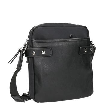 Taška ve stylu Crossbody bata, černá, 969-6366 - 13