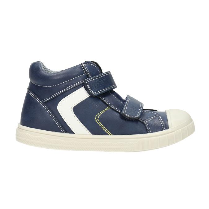 Kotníčkové dětské tenisky mini-b, modrá, 211-9606 - 15