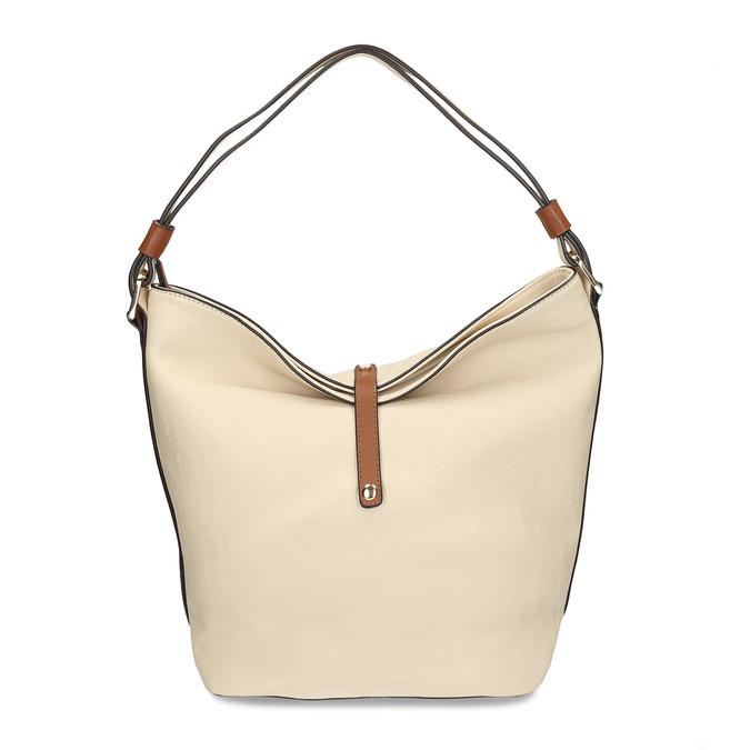 kabelka v Hobo stylu bata, béžová, 961-8705 - 26