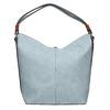 Modrá kabelka v Hobo stylu bata, modrá, 961-9705 - 19