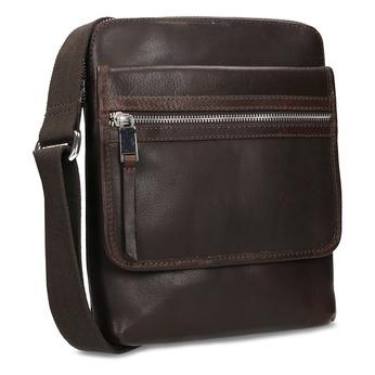 Hnědá pánská taška Crossbody bata, hnědá, 964-4237 - 13