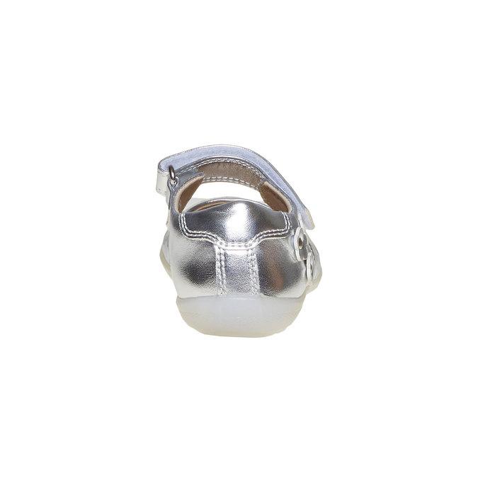 Stříbrné dětské baleríny mini-b, stříbrná, 221-2169 - 17