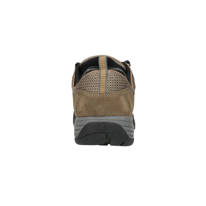 Kožená Outdoor obuv power, hnědá, 803-3118 - 17