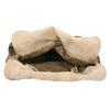 Kožená kabelka do ruky a-s-98, hnědá, 966-4041 - 15