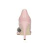 Kožené lodičky s vykrojenými boky insolia, růžová, 728-5636 - 17