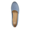 Dámská obuv ve stylu Slip-on bata, modrá, 516-9602 - 19