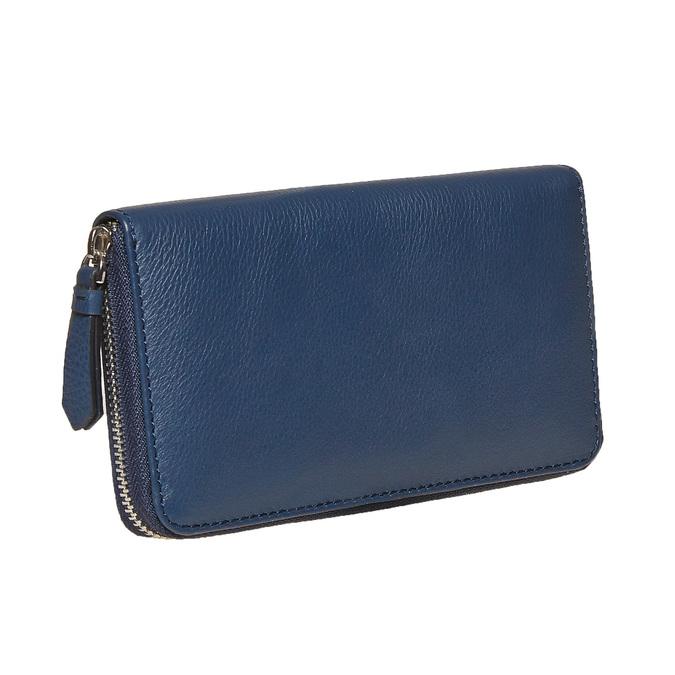 Dámská kožená peněženka modrá bata, modrá, 944-9178 - 13