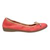 Červené baleríny s pružným lemem bata, červená, 526-5617 - 15