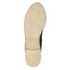 Dámské polobotky s perforací bata, černá, 526-6619 - 26