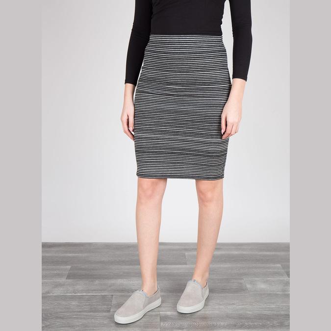 Dámská kožená Slip-on obuv bata, šedá, 516-2600 - 18