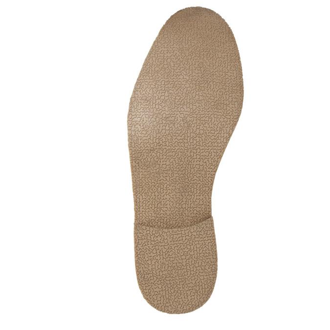 Hnědé kožené polobotky s výrazným prošitím bata, hnědá, 826-4815 - 26