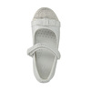 Dívčí baleríny se suchým zipem mini-b, bílá, 221-1179 - 19