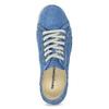 Ležérní kožené polobotky weinbrenner, modrá, 546-9603 - 17