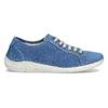 Ležérní kožené polobotky weinbrenner, modrá, 546-9603 - 19