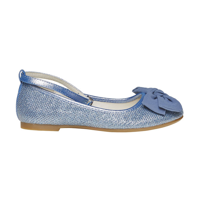 Modré dívčí baleríny mini-b, modrá, 329-9241 - 15