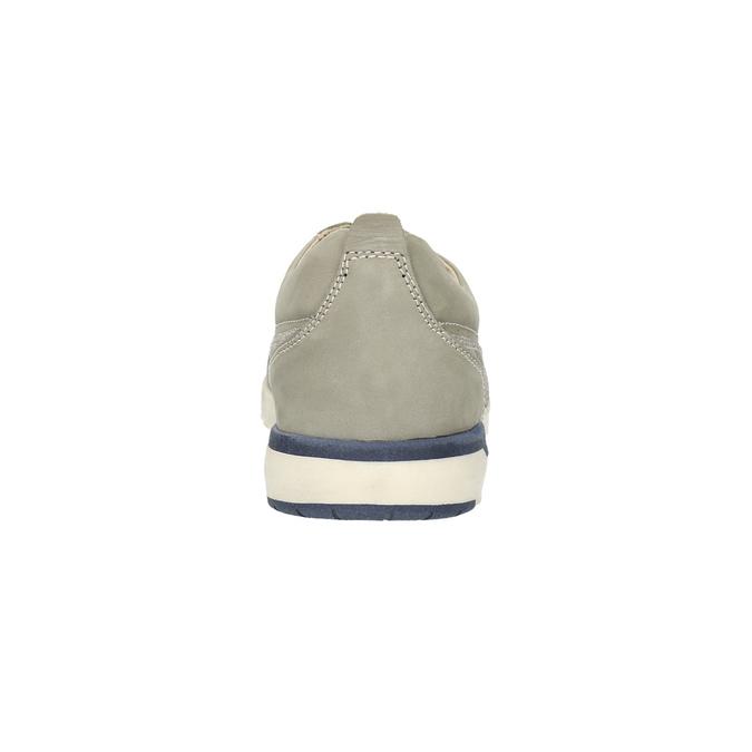 Ležérní kožené tenisky bata, hnědá, 846-2632 - 17